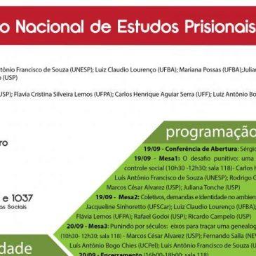 V Seminário Nacional de Estudos Prisionais e Punição