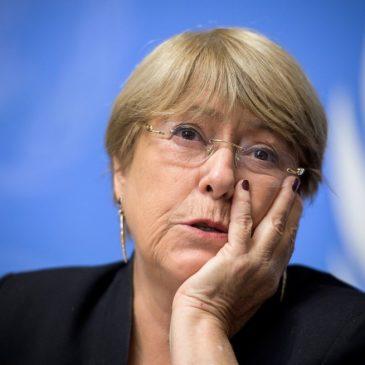 Após Bachelet criticar violência policial no Brasil, Bolsonaro diz que ela defende direito de vagabundos
