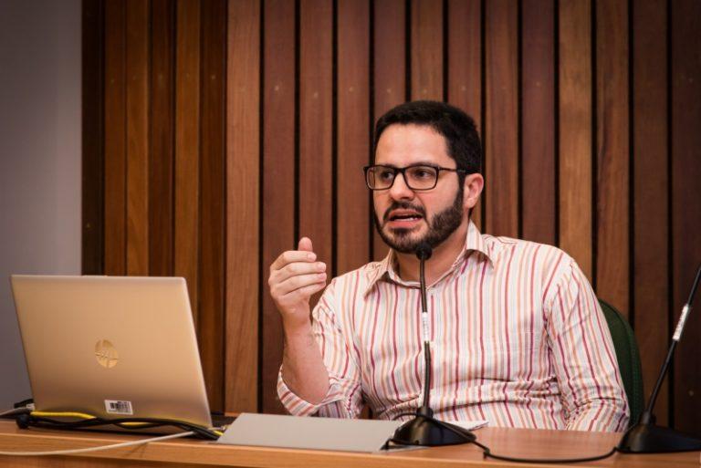 Rafael Mantovani. Foto: Jeferson Mendonça (COC/Fiocruz)